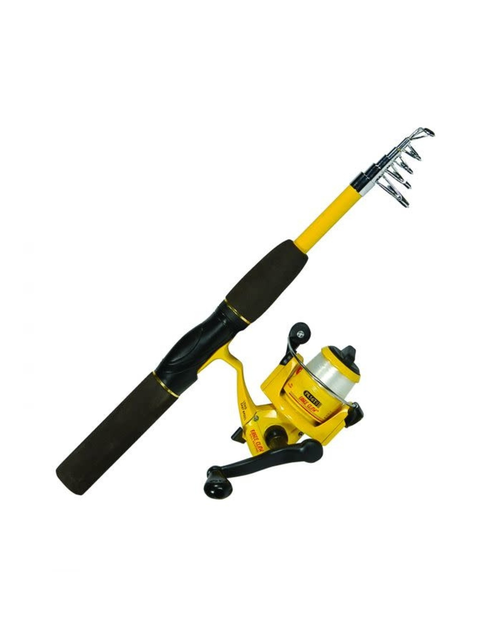 """Eagle Claw Eagle claw 5'6"""" Spinning Telescopic Pack Rod"""