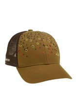 Rep Your Water RepYourWater Brown Trout Skin Hat