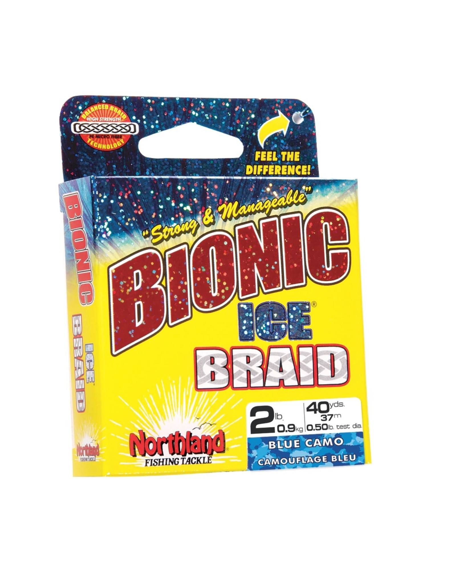 Northland Fishing Tackle Northland Tackle Bionic Ice Braid