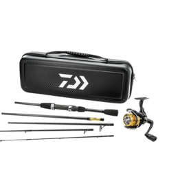 Daiwa Daiwa D-Vec Carbon Case Travel Spinning Combo