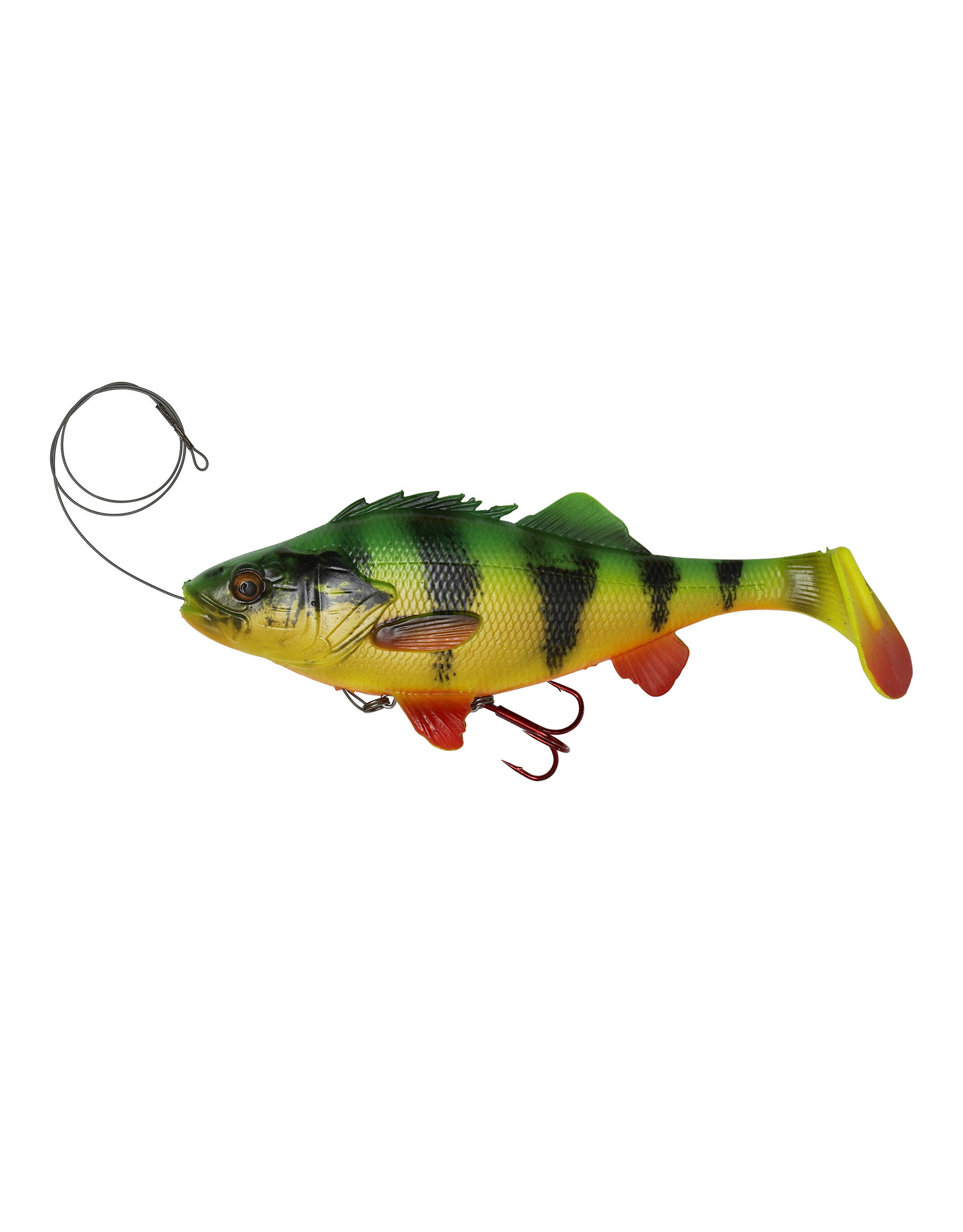 "Savage Gear Savage Gear 4D Perch Shad 9"" Firetiger"