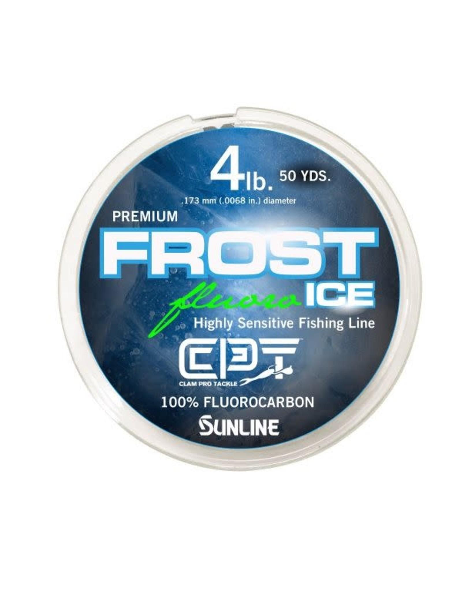Clam Clam Frost Premium Fluorocarbon Ice Line