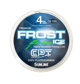 Clam Clam Frost Premium Fluorocarbon Ice Line