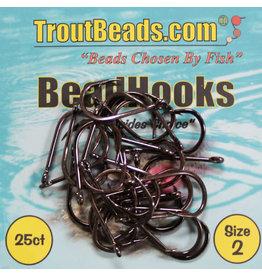 Troutbead Troutbead Beadhooks 25pk
