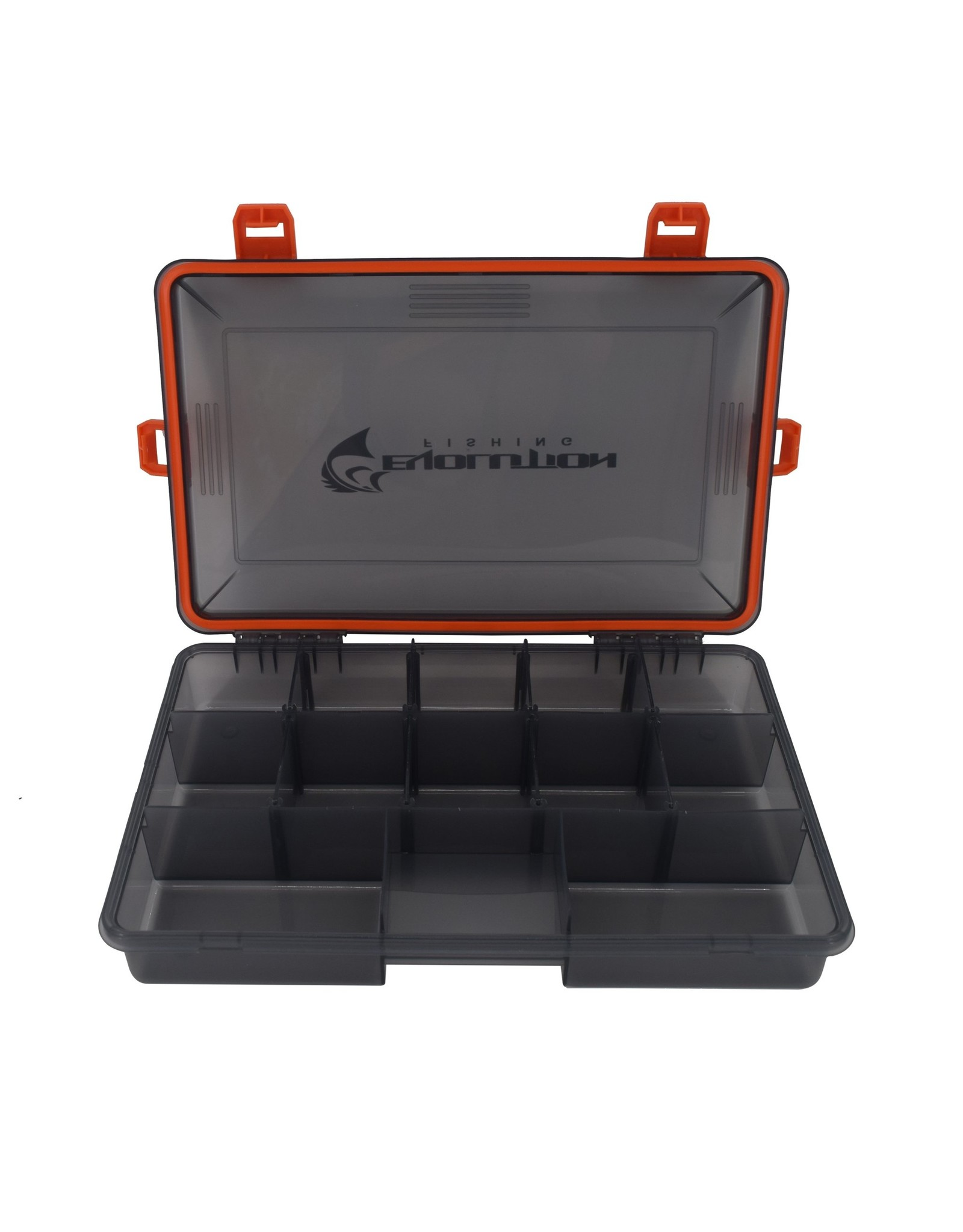 Evolution Outdoor Evolution Outdoor 3600 4-Latch Waterproof Tackle Tray