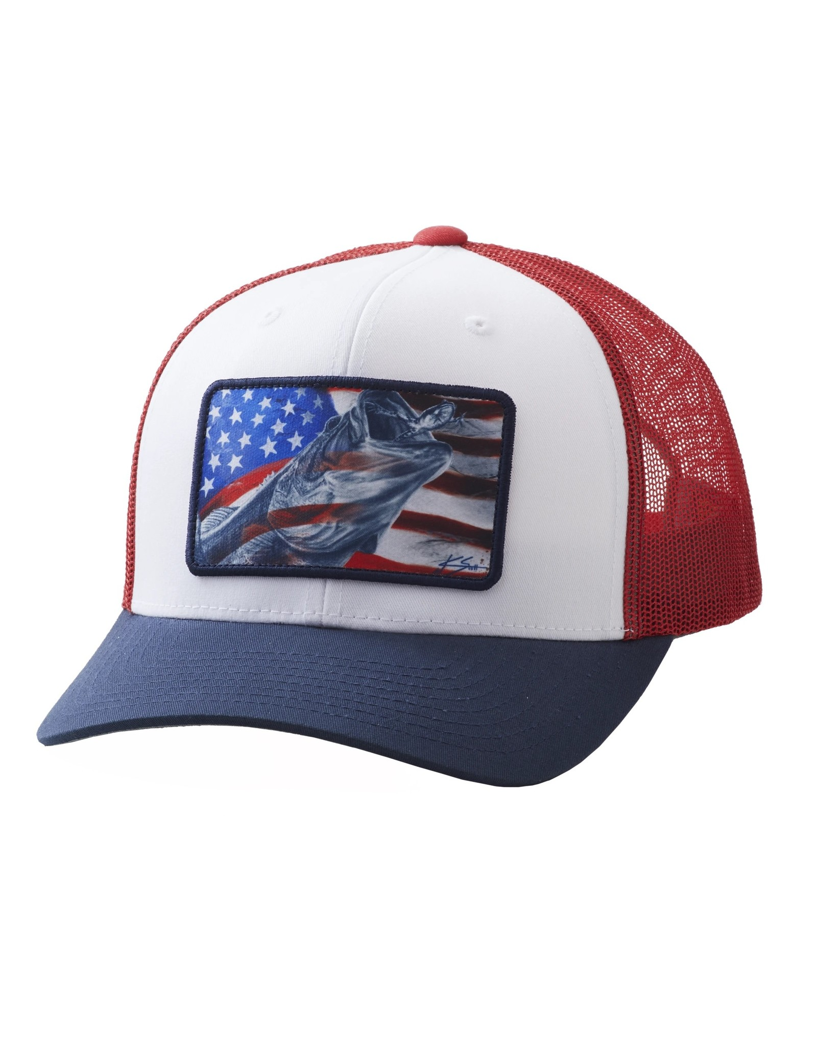 Huk Gear Huk Americana Frogger Trucker Hat
