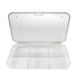 New Phase Tackle Shack Clear 6 Compartment Fly Box