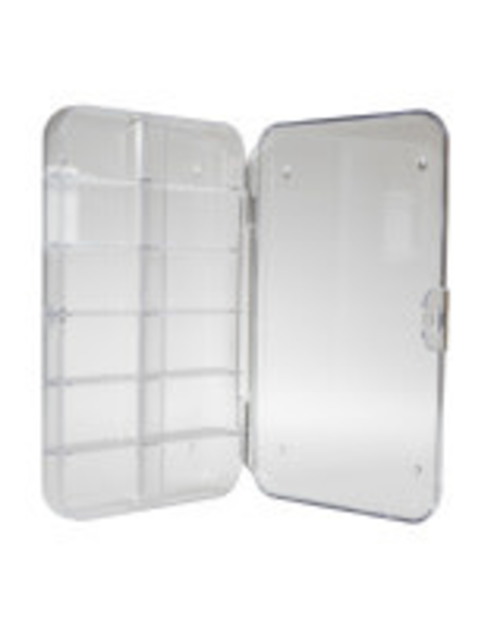 New Phase Tackle Shack Clear 12 Compartment Fly Box