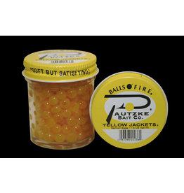 PAUTZKE BAIT CO., INC. Pautzke BALLS O' FIRE - Salmon EggsYELLOW JACKETS1.5 OZ