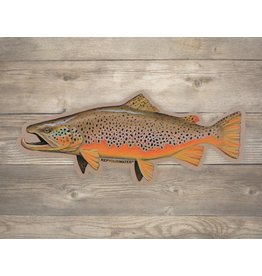 Rep Your Water RepYourWater Artist Reserve Big Dog Brown Sticker - Large