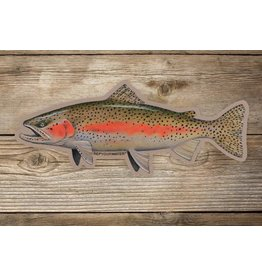 Rep Your Water RepYourWater Artist Reserve Wild Rainbow Sticker - Large