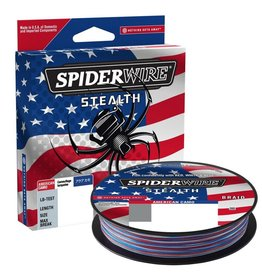 Spiderwire Spiderwire Stealth American Camo Braid