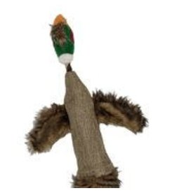 Tailfin Sports Big Bottle Birds - 2 Liter Crinkle Pheasant w/ Squeaker and Handles