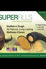 Tailfin Sports Advanced Pet Products Superfills Buffalo Trachea w/ Cheese and Hemp