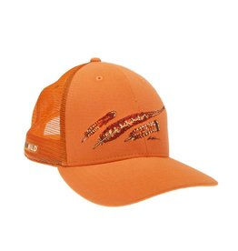 Rep Your Water Rep Your Water Upland Feather Trio Blaze Orange Hat
