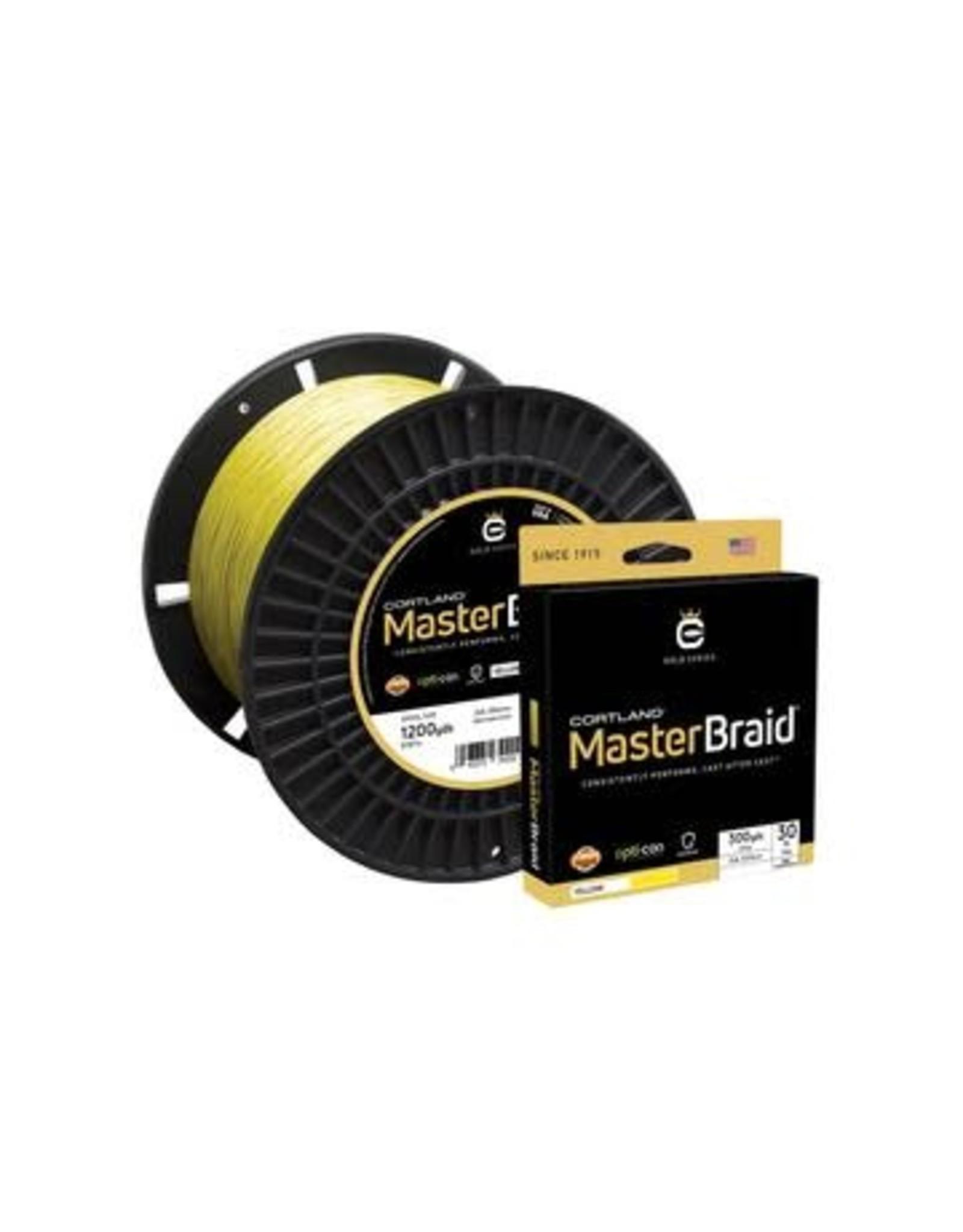 Cortland Line Cortland Master Braid 150 Yard Spool