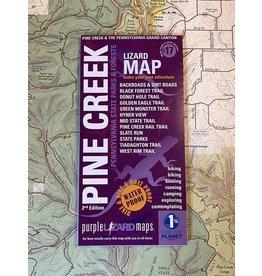 Purple Lizard Purple Lizard Map-Pine Creek & Grand Canyon
