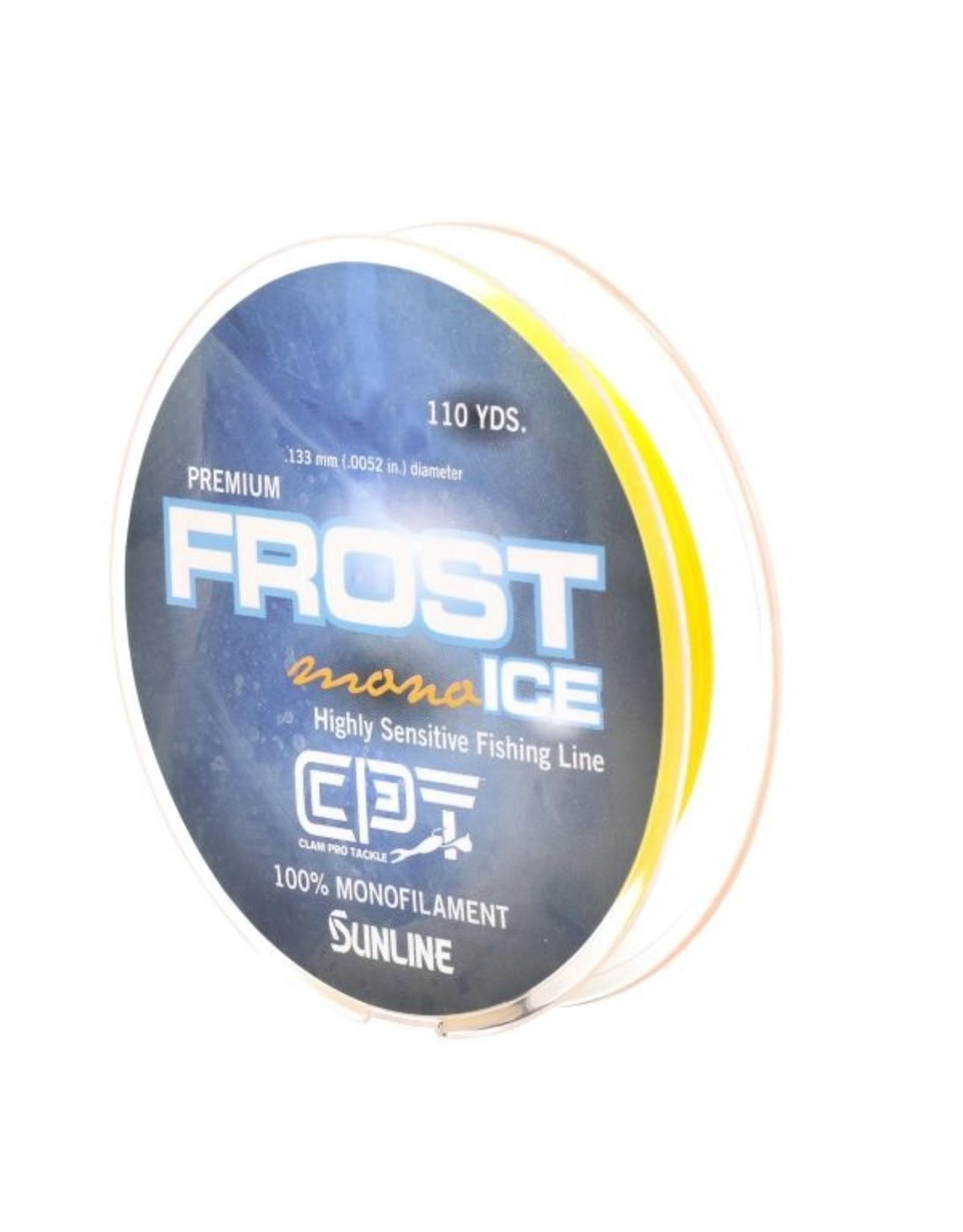 Clam Clam Premium Frost Ice Monofilament fishing line