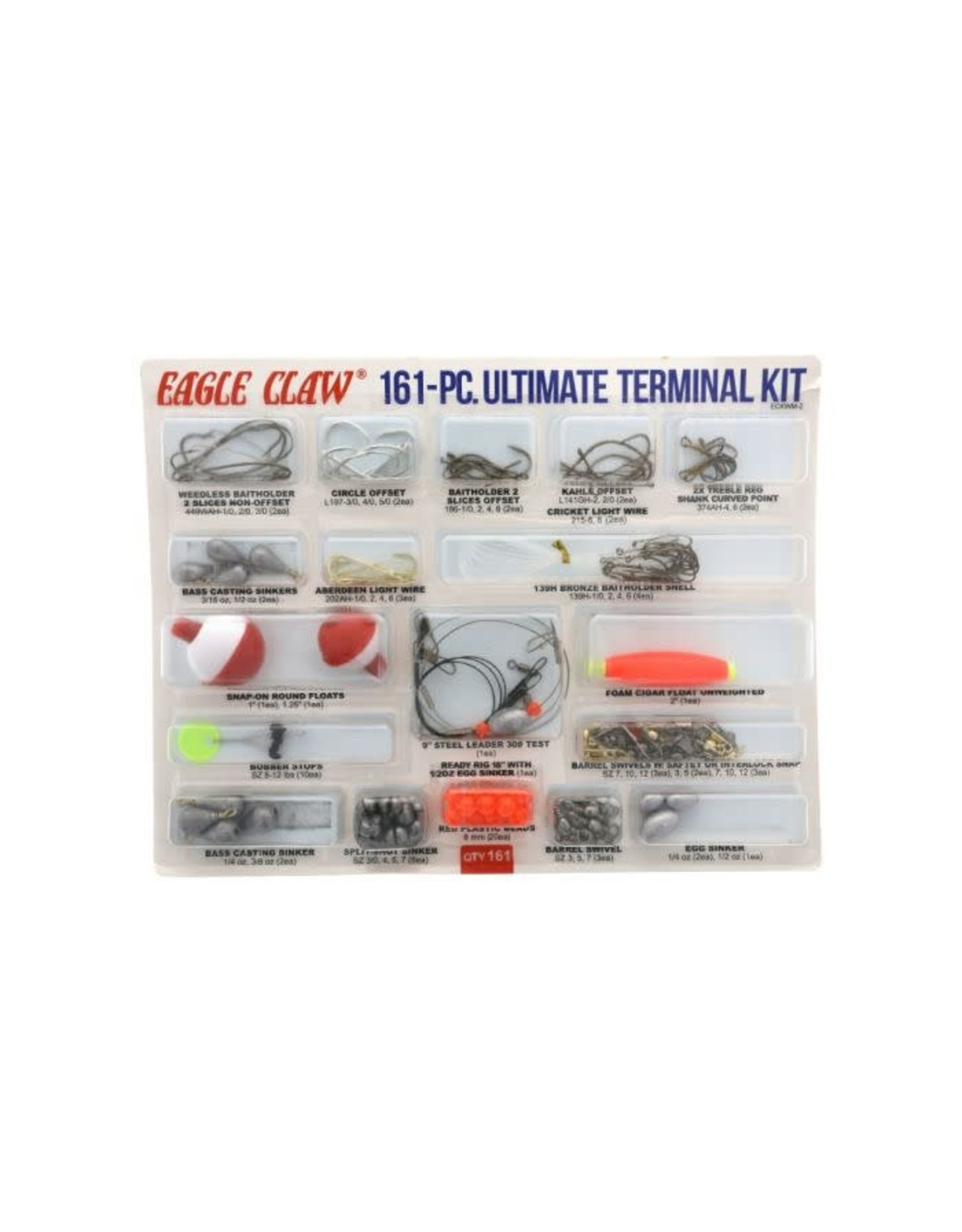 Eagle Claw Eagle Claw 161 Piece Ultimate Terminal Kit