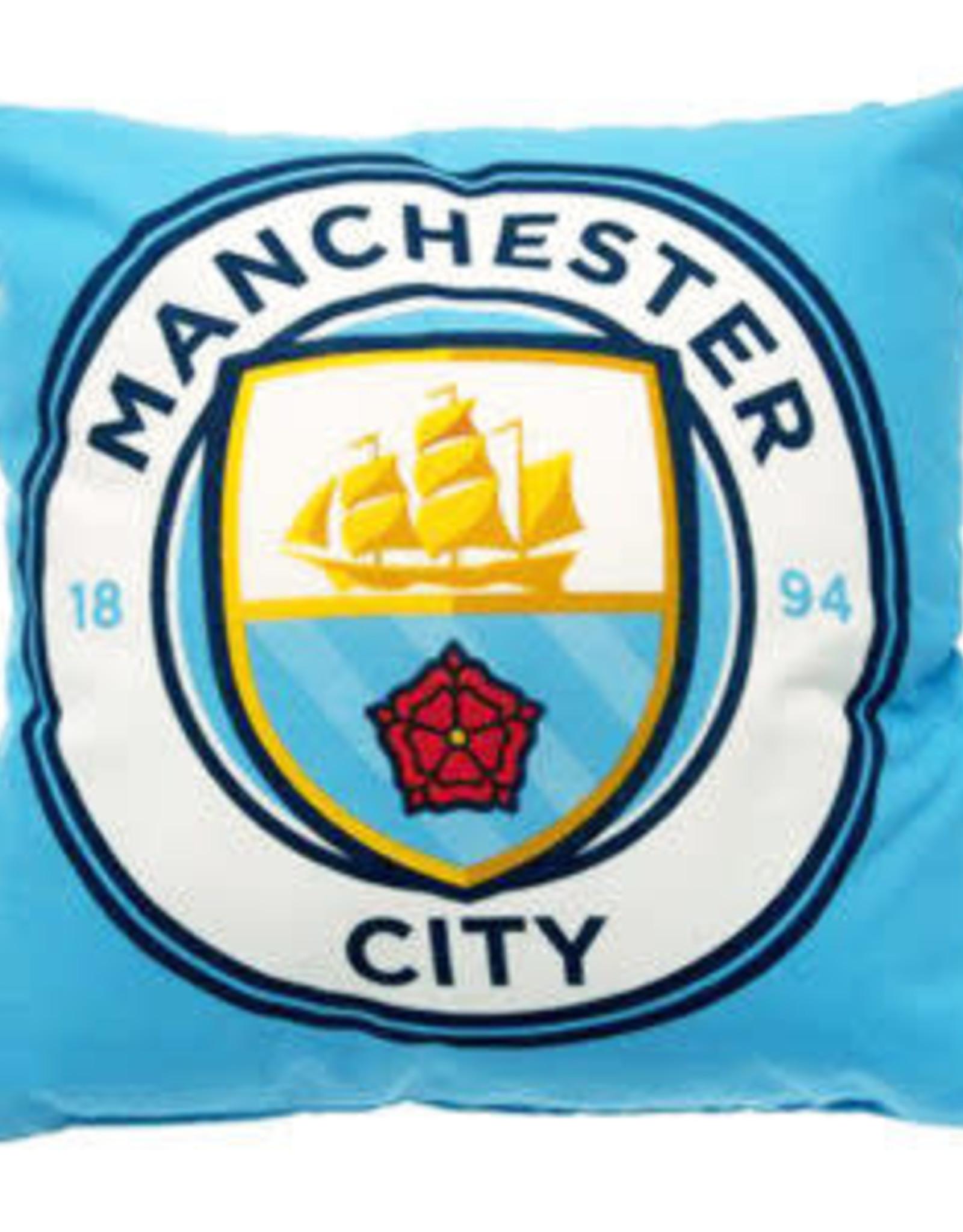 Mini Imports Manchester City Crest Cushion