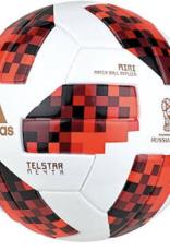 Adidas Telstar 18 Mini Ball Wht-Blk-Red