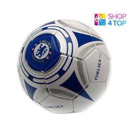 Chelsea Soccer Ball White/Blue Mini - 2