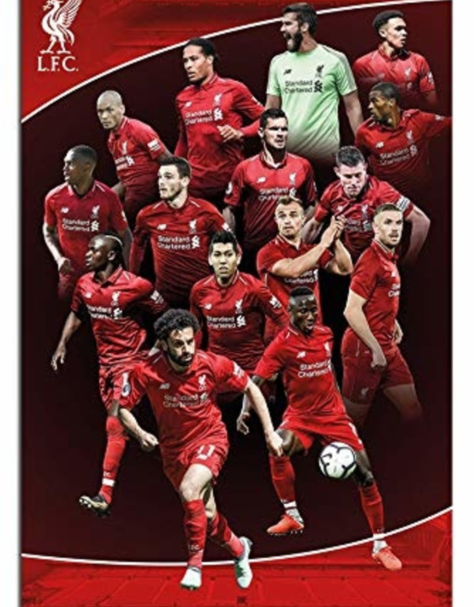 LiverPool Players Poster