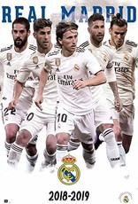 Real Madrid Players Poster with Frame