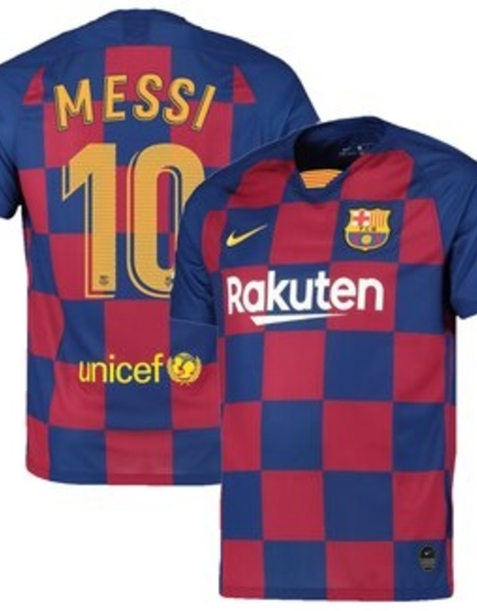 Barcelona Messi 19/19 Home Jersey Youth Med