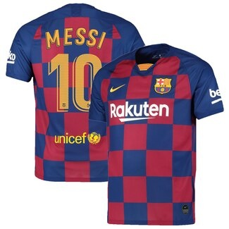the latest 7f217 ab735 Barcelona Messi 19/19 Home Jersey Youth Med
