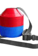Kwik Goal Mini Disc Cone Kit -Red/Blue