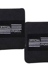 Official Sports Official Sports Referee Black Wristband Set