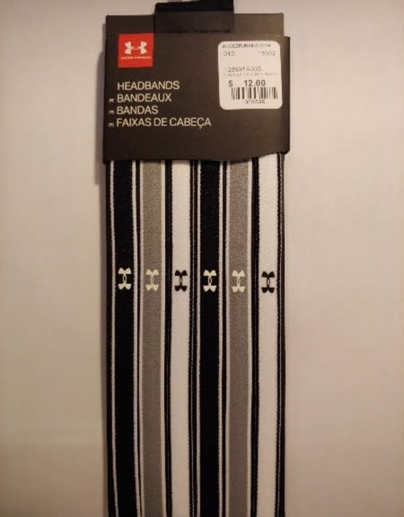 Under Armour Under Armour Mini Headbands Black-Grey-White