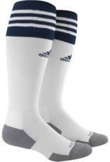 Adidas Adidas Copa Zone 11 Socks White w/Navy 7-8.5 size