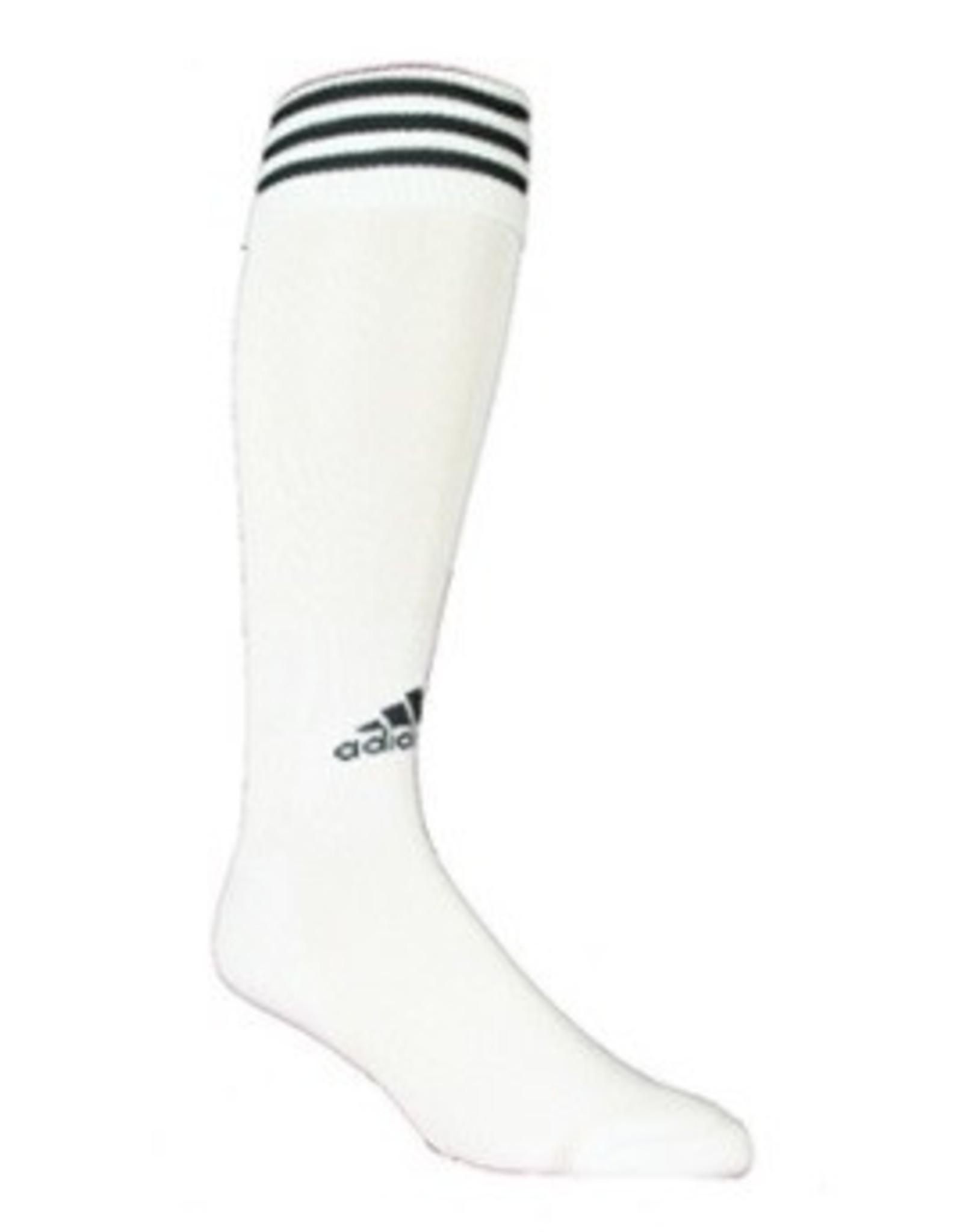 Adidas Adidas Copa Zone 11 Socks White w/Black 7-8.5 size