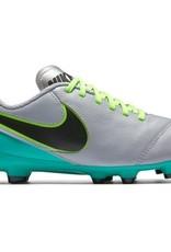 Nike Nike Tiempo Legend VI FG - Youth Wolf Grey/Black 4.5