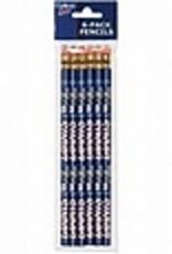 wincraft USA Pencils 6PK