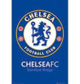 Chelsea Team Crest Poster