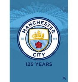 Manchester City Team Crest Poster