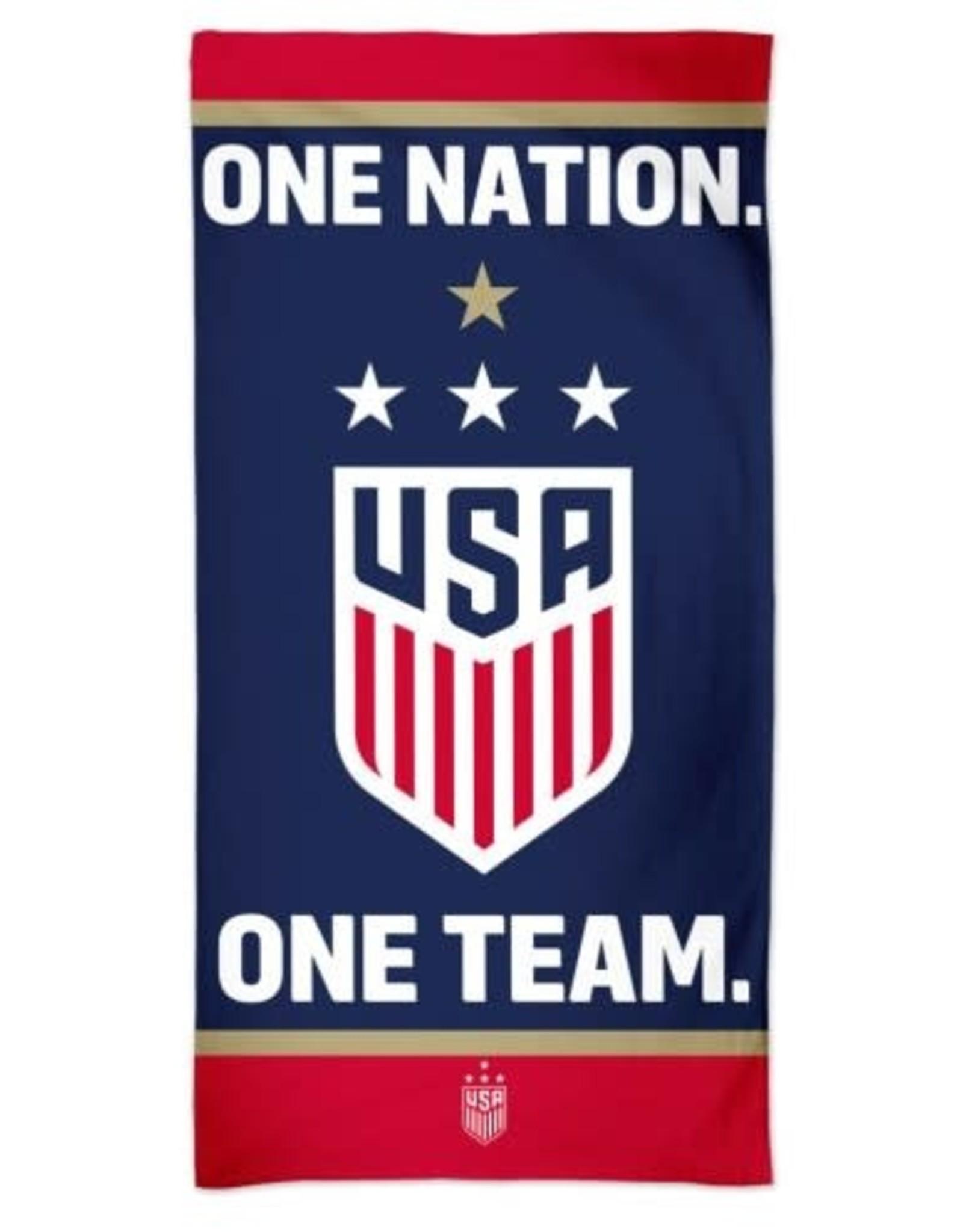 US Soccer Womens National Team Spectra Beach Towel