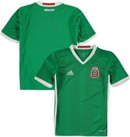 Adidas Adidas Yth Mexico Home Jersey Green