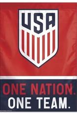 US Soccer-National Team Vertical Flag