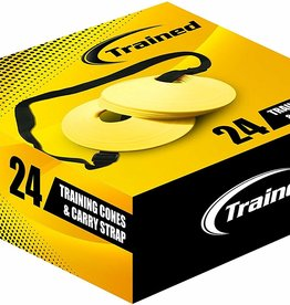 Trained Sports Training Cones and Carry Strap