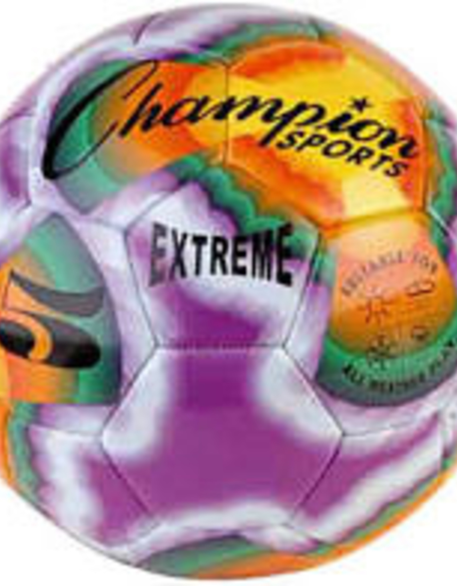Champion Champion Extreme Tie Dye Soft Touch Soccer Ball