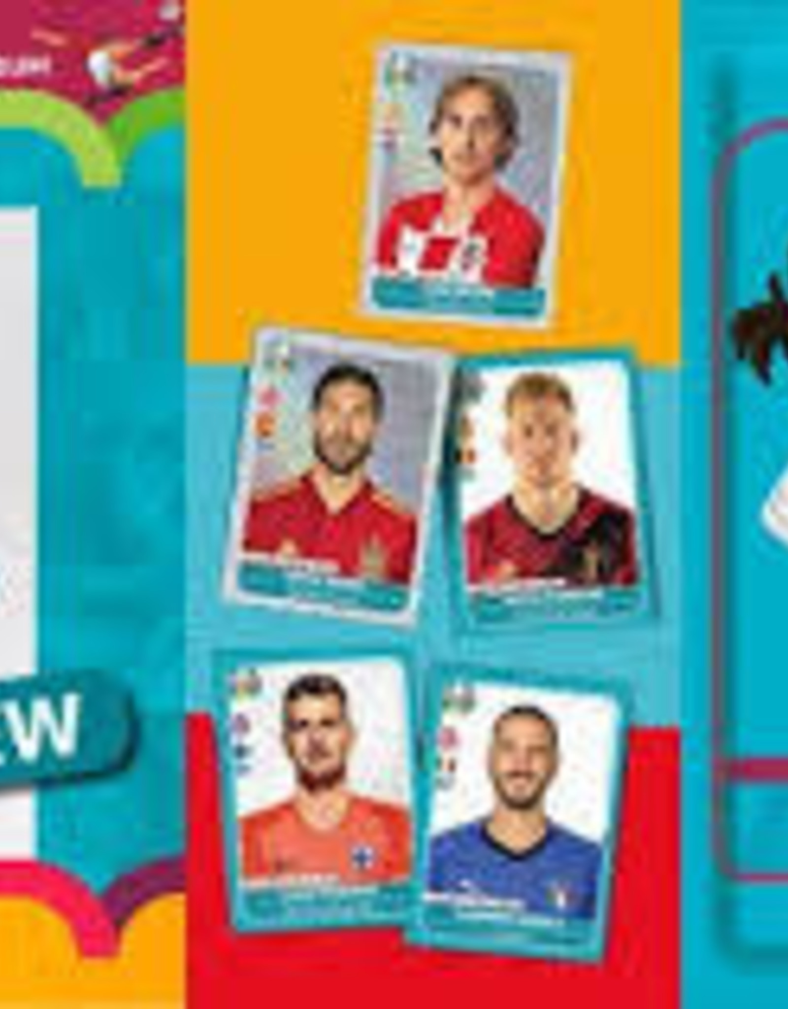 Panini 2020 Road to euro Stickers Starter Pack