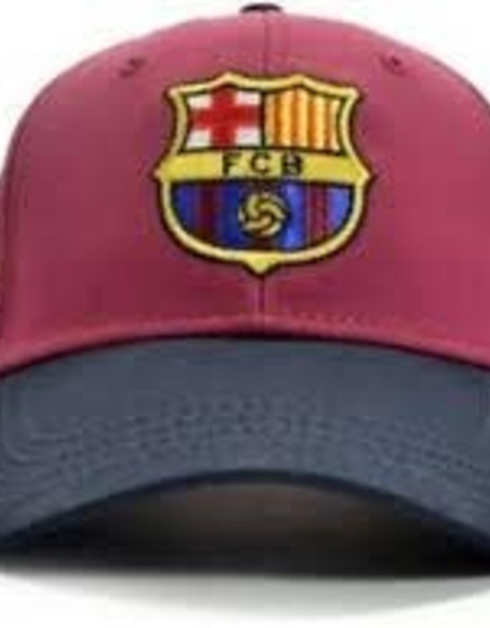 Barcelona Burgandy Crest Hat / Messi