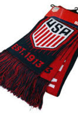U.S. Soccer Knitted Scarf