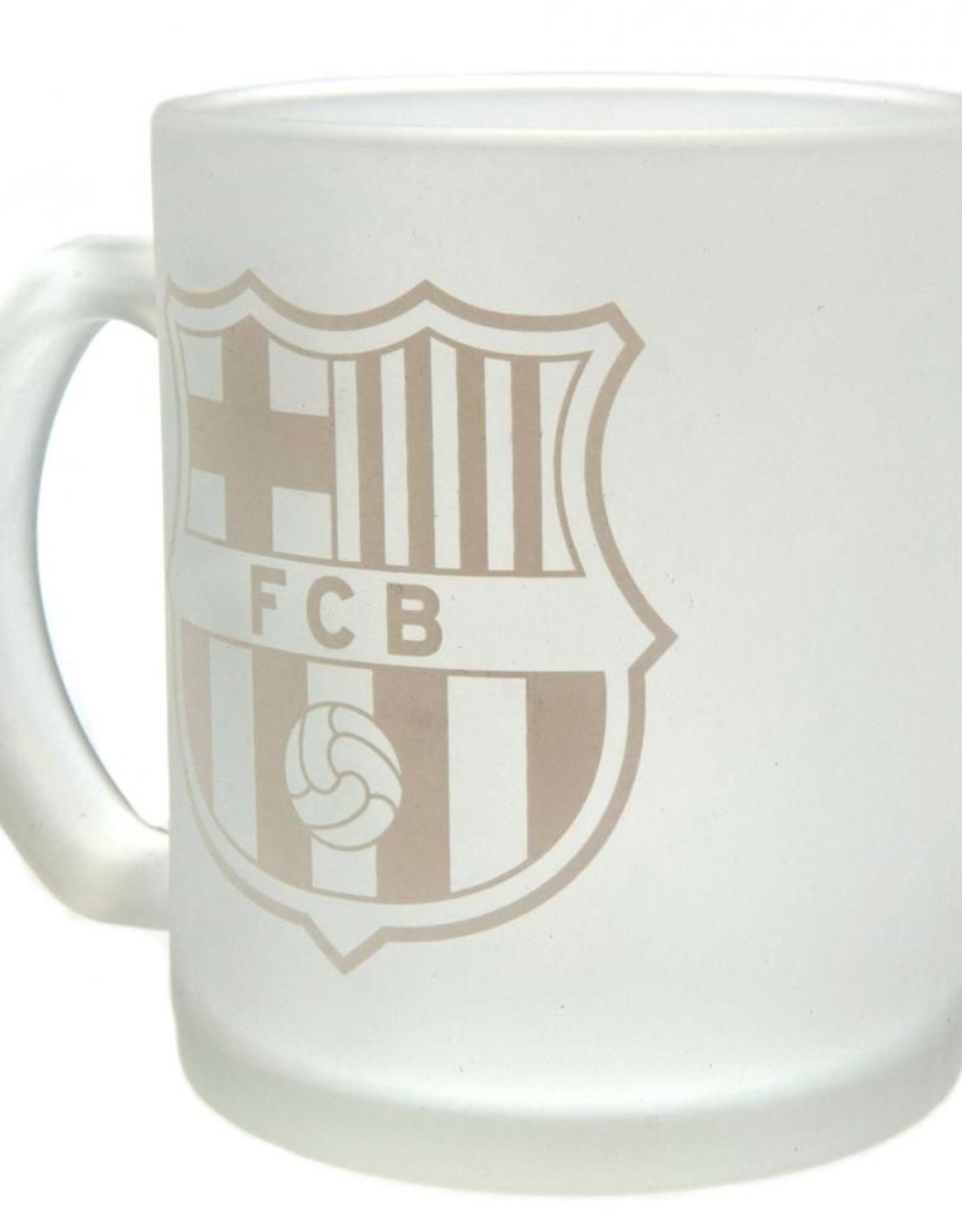 Barcelona Frosted Glass Mug