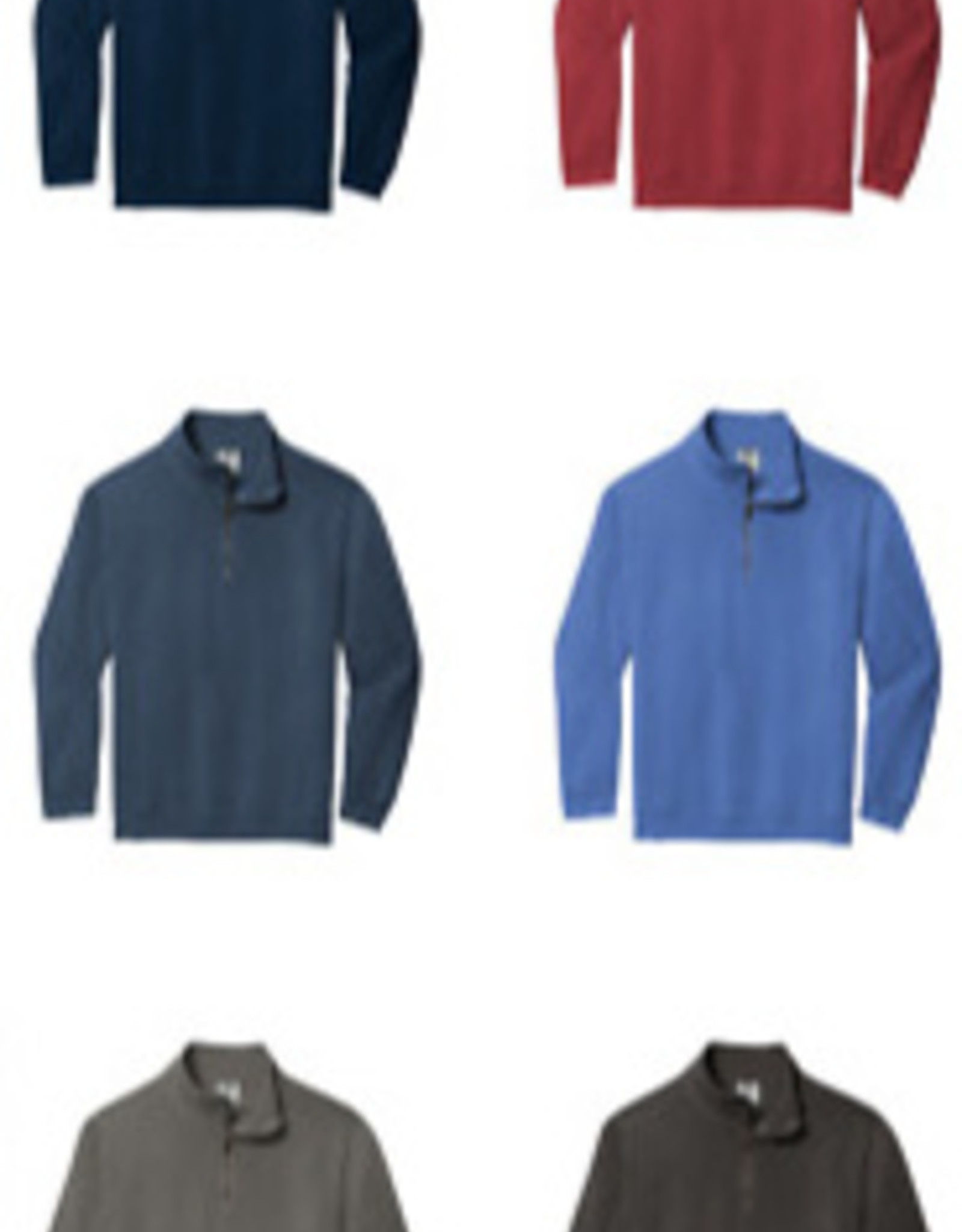 Comfort Colors Comfort Colors 1/4 zip Fleece