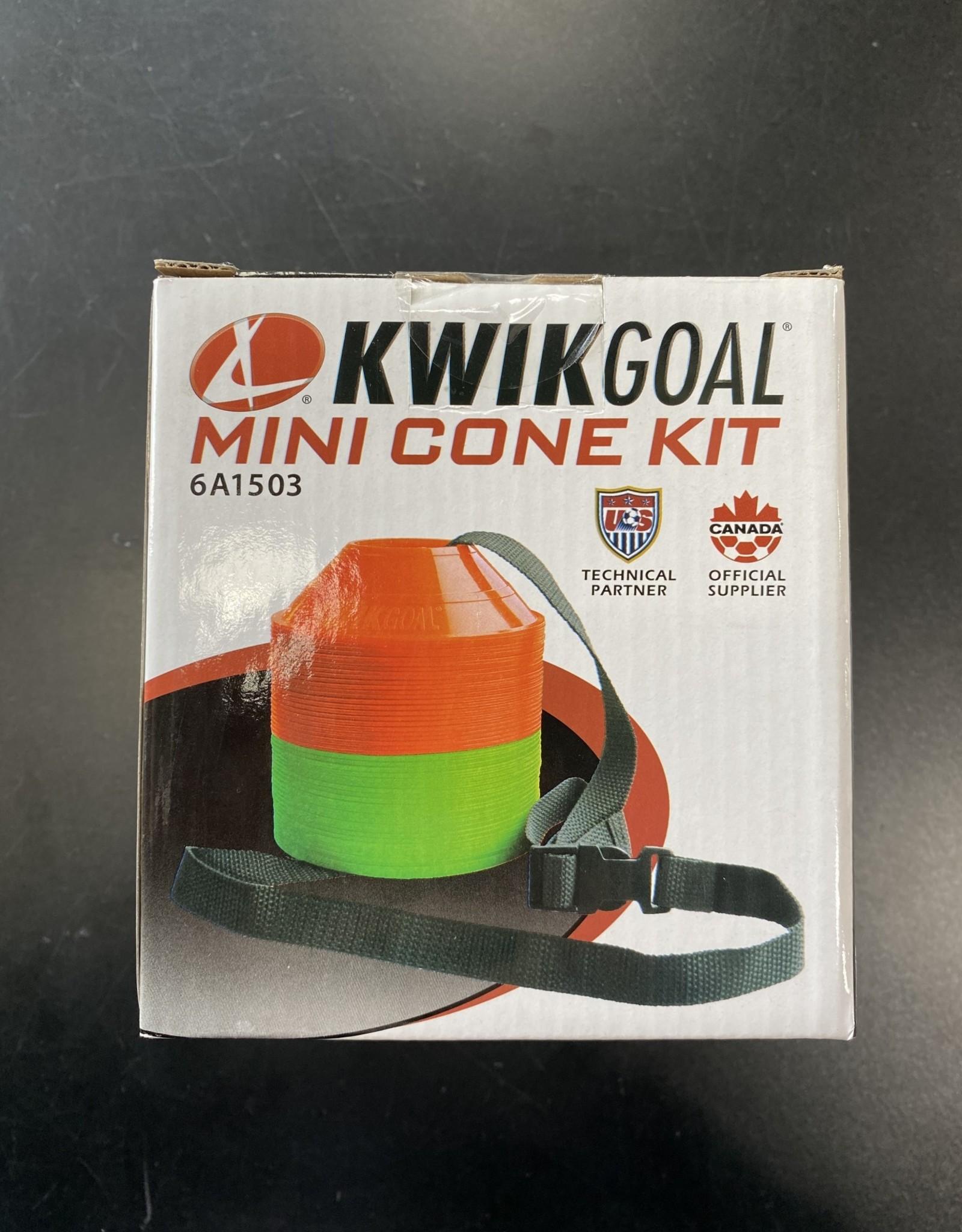Kwik Goal Kwik Goal Mini Cone Kit orange/green